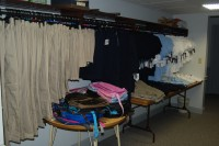 Photo of clothing available for the children